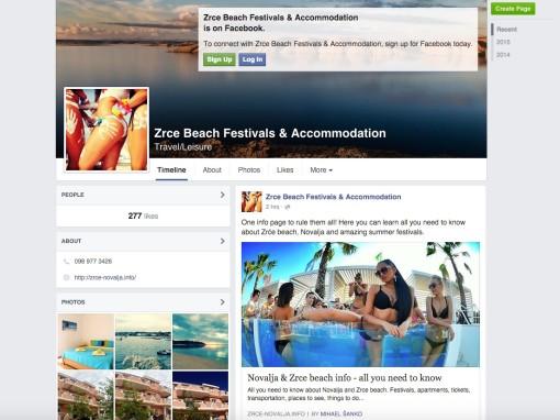 Happy Island d.o.o. Facebook Page